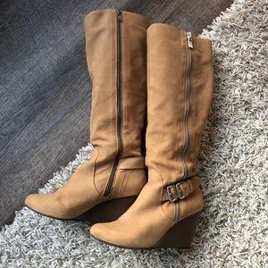 BCBG Generation Wedge Boots